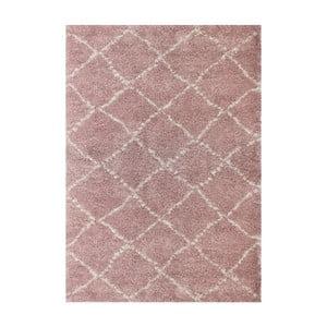 Růžový koberec Art For Kids Nomad, 120x170cm