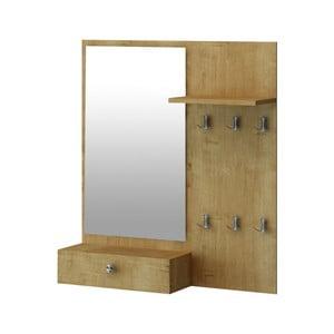 Předsíňová sestava se zrcadlem Loopen, 90 x 18 x 100 cm