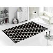 Černý koberec Home De Bleu Madalyon, 80x150cm