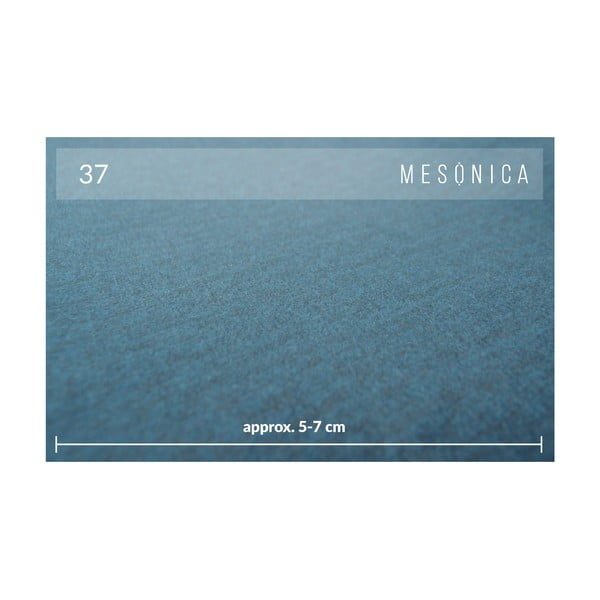Modrá 3místná pohovka MESONICA Toro