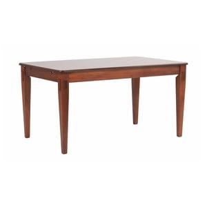 Jídelní stůl v barvě ořechového dřeva Folke Mozart Wels, 145x90cm