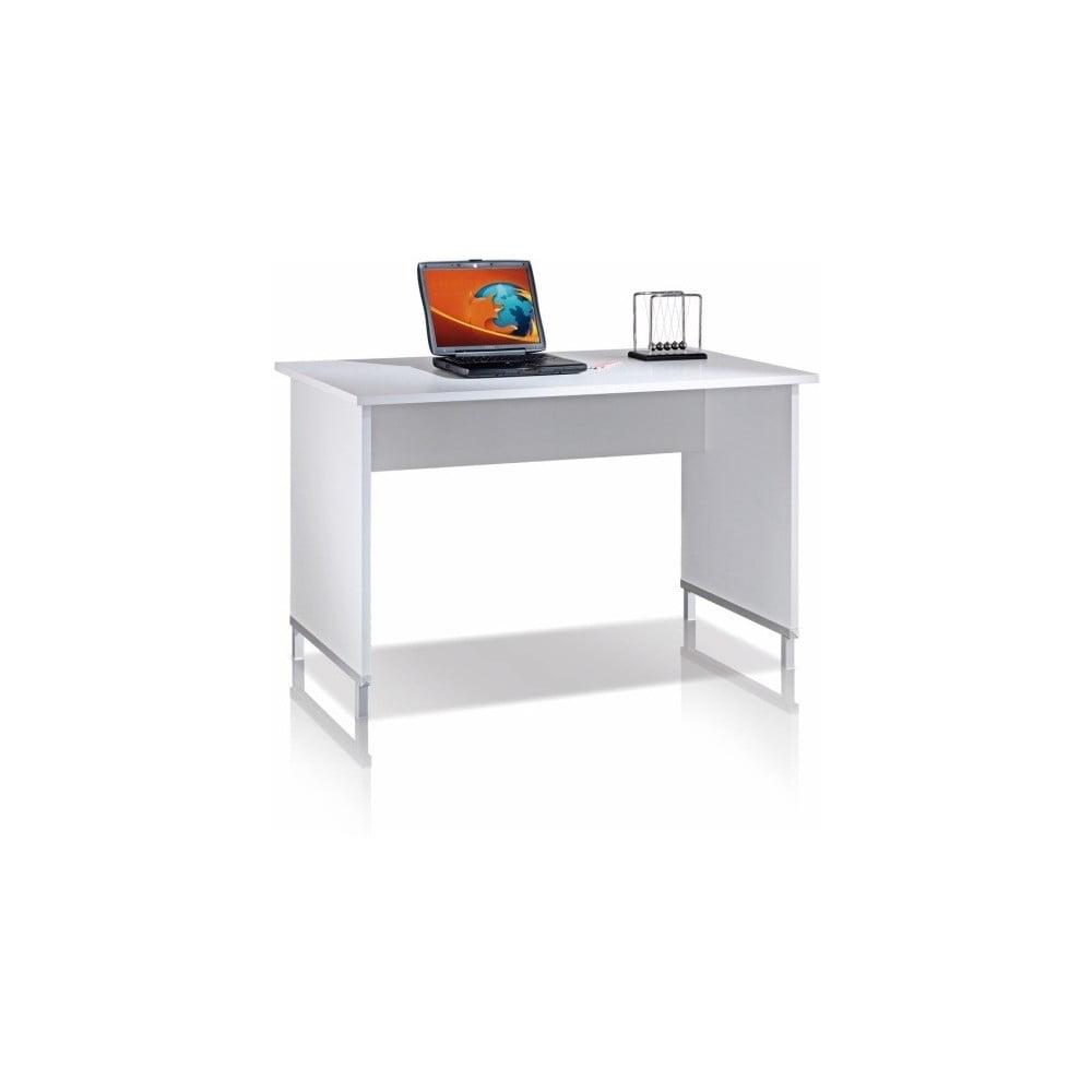 Bílý pracovní stůl Terraneo
