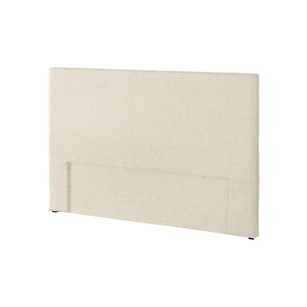 Krémově bílé čelo postele Novative Valse, 160 x 118 cm