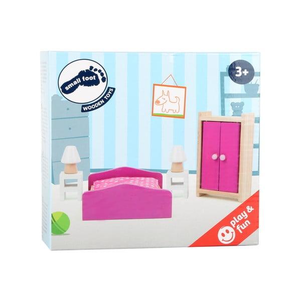 Bedroom fabútorok játékbabáknak - Legler