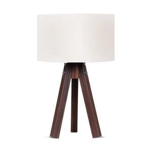 Stolní lampa s bílým stínítkem Kate Louise Kahve