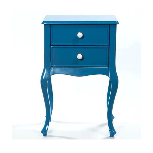 Odkládací stolek Bourbon Blue, 46x33x70 cm
