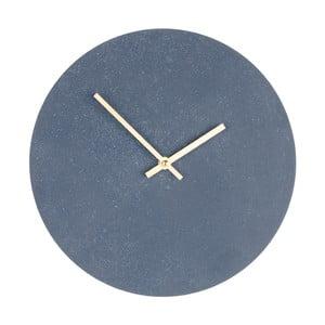 Ceas de perete din lemn House Nordic Paris, ⌀ 30 cm, gri
