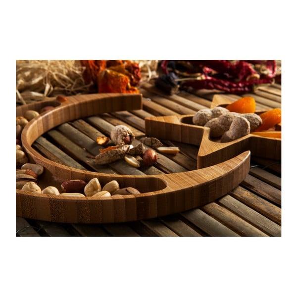 Servírovací misky ve tvaru hvězdy a měsíce Bambum