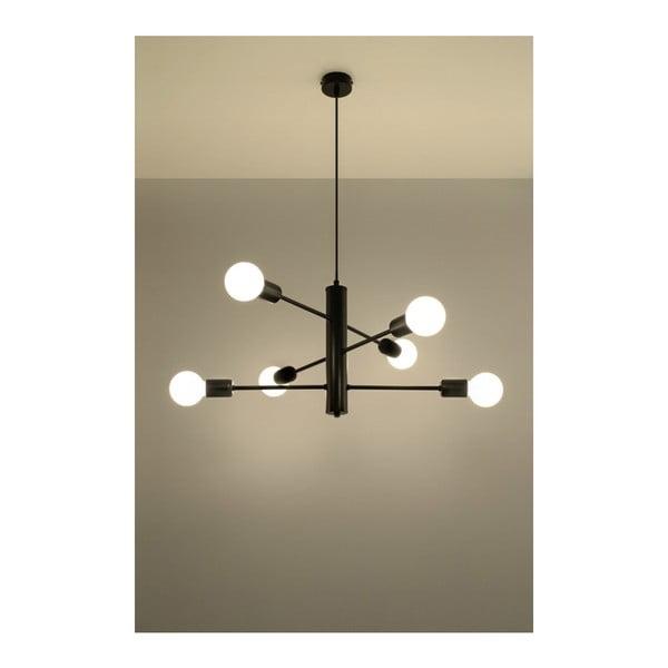 Lustră Nice Lamps Donato 6, negru