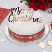 Decorațiune pentru tort Neviti Dazzling Christmas