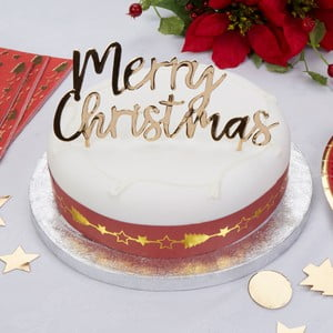 Ozdoba na dort Neviti Dazzling Christmas
