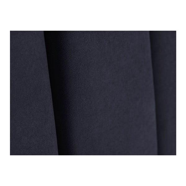 Tmavě modré čelo postele Kooko Home Kasso, 120 x 200 cm