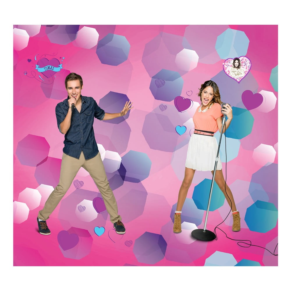 Foto závěs AG Design Violetta Disney II, 160 x 180 cm