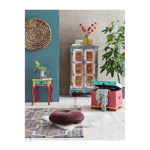Vysoká skříň WOOX LIVING India Colore
