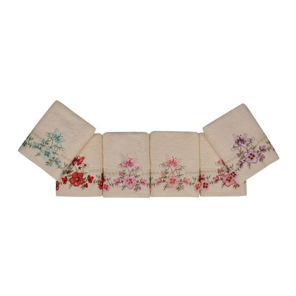 Sada 6 ručníků z čisté bavlny Promises, 50 x 90 cm
