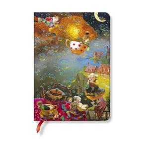 Carnețel cu copertă tare Paperblanks Imagination, 12 x 17 cm