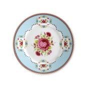 Dezertní talířek 17 cm, modrý