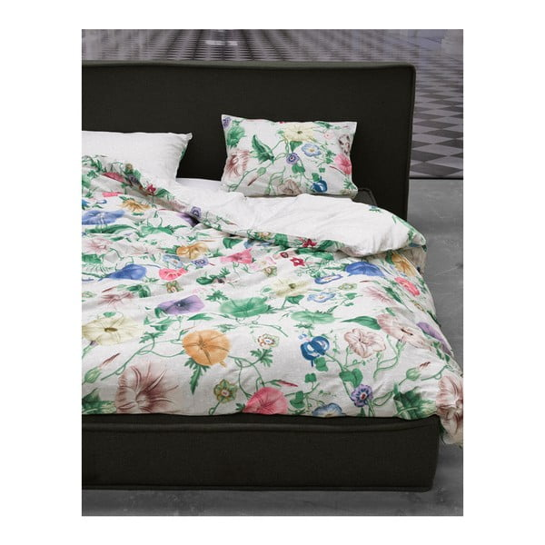 Lenjerie de pat cu două fețe  Essenza Nore, 200 x 220 cm