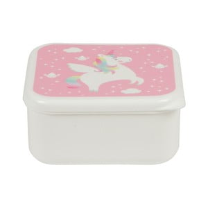 Obědový box Sass & Belle Rainbow Unicorn