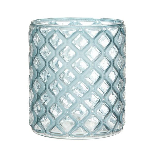 Lucerna Cylinder Check Blue, 12 cm