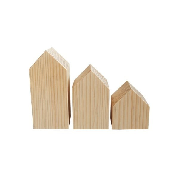 Dekorace Casitas de madera