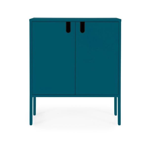 Petrolejově modrá skříň Tenzo Uno, šířka 80cm