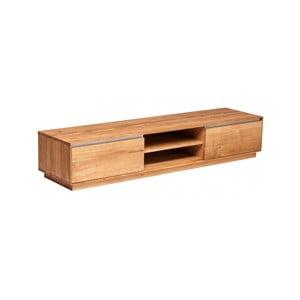 Televizní stolek z dubového dřeva Fornestas Hamilton, šířka 180cm