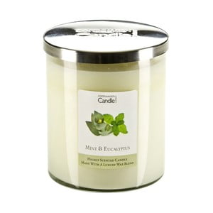 Aroma svíčka s vůní máty a eukalyptu Copenhagen Candles, doba hoření 70 hodin