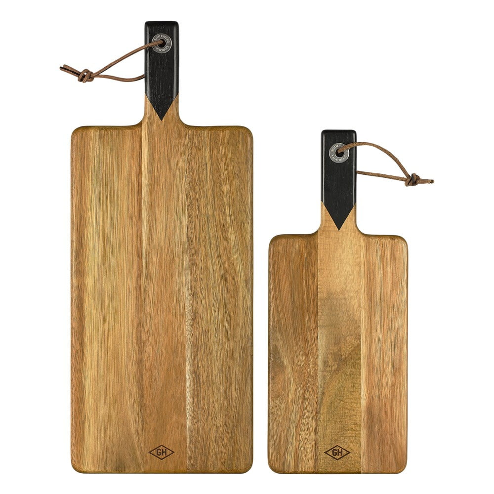 Sada 2 krájecích prkének Gentlemens Hardware Serving Boards