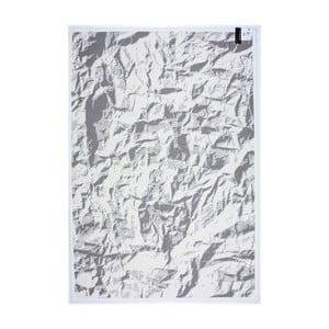 Koberec White Linen, 80x150 cm