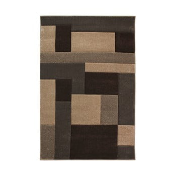Covor Flair Rugs Cosmos Beige Brown, 80 x 150 cm, bej – maro de la Flair Rugs