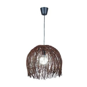 Stropní světlo Struwel Dark Brown, 28x30 cm