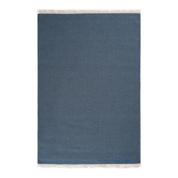 Vlněný koberec Rainbow Indigo, 170x240 cm
