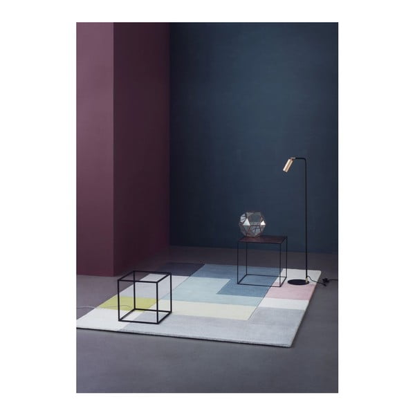 Vlněný koberec Tetris Powder, 170x240 cm