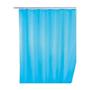 Perdea duș anti mucegai Wenko, 180x200cm, albastru deschis imagine