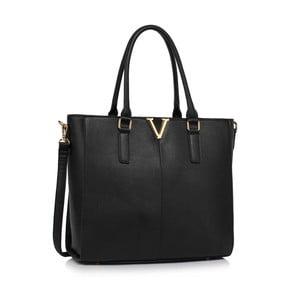 Kabelka L&S V Design Black