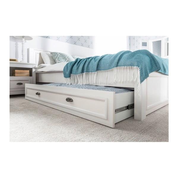 Bílá zásuvka pod postel Szynaka Meble Madison