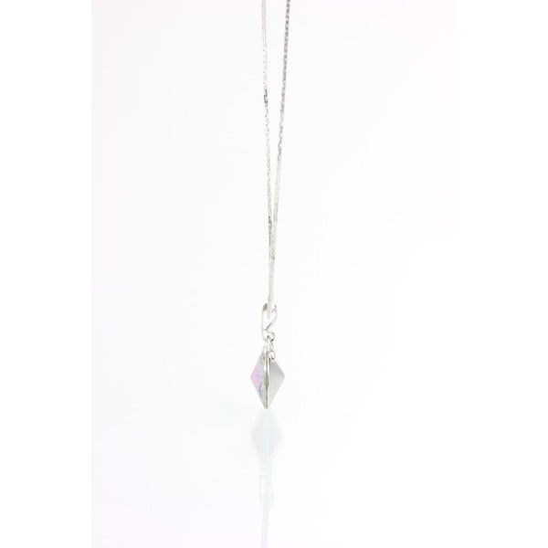 Modrý náhrdelník se Swarovski krystaly Yasmine Longie