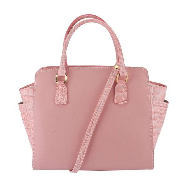 Kožená kabelka Marta Pink