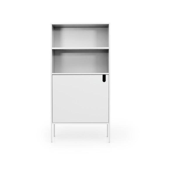 Bílá skříň Tenzo Uno, šířka 76cm
