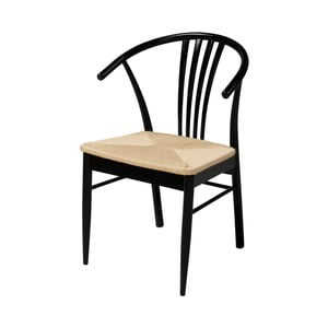 Černá jídelní židle z březového dřeva Interstil York