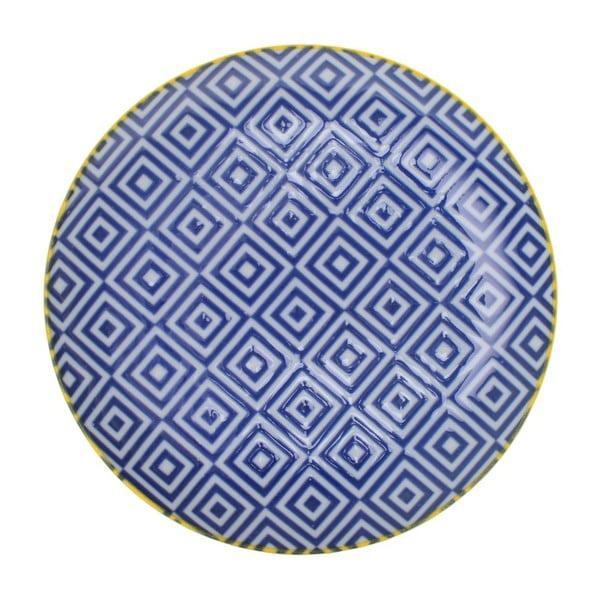Porcelánový talíř Geometric No1, 16x2,1 cm