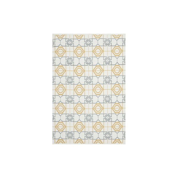 Odolný koberec z recyklovaného plastu vhodný i na venkovní použití Safavieh Collin, 121x182cm