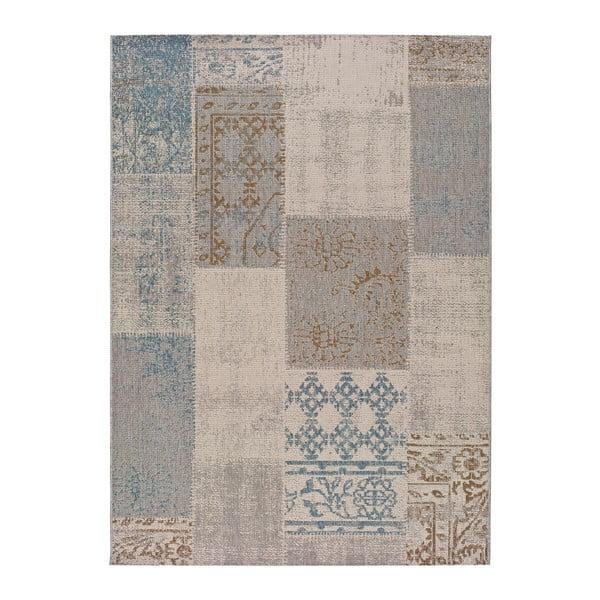 Modrý venkovní koberec Universal Bilma, 80 x 150 cm