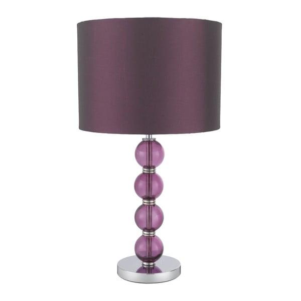 Stolní lampa Eleganc, fialová