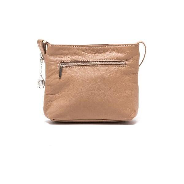 Kožená kabelka Roberta M 241s Fango