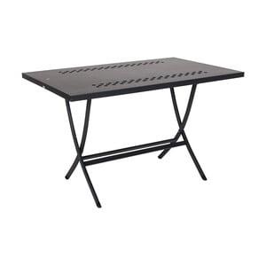 Černý skládací stůl Crido Consulting Nero