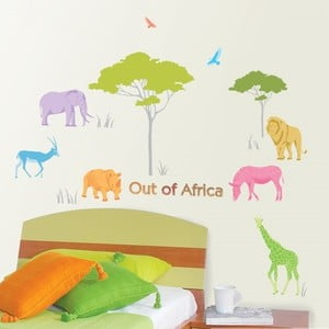 Samolepka African Animals