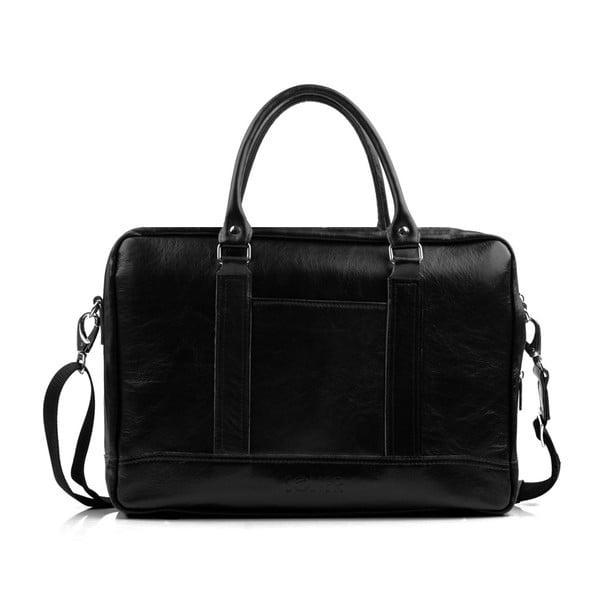 Pánská kožená  taška Solier SL02, černá