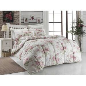 Přehoz přes postel Firuze Pink, 195x215 cm